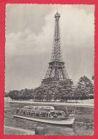 217452 / 75 / TOUR ELFFEL  - RIVER MOTOR BOAT VEDETTES PARIS TOUR EIFFEL , 0.40 C METER STAMPS , France Frankreich Franc - Tour Eiffel