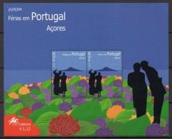 Açores - Bloc Feuillet - 2004 - Yvert N° BF 27 **  - Europa