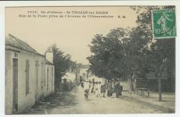 17  Ile D' Oléron  SAINT TROJAN LES BAINS  Rue De La Poste Prise De L'Avenue De L'Observatoire - Ile D'Oléron