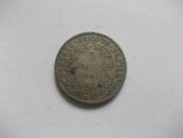 MONNAIE - 2 FRANCS CERES 1881 TB Grand A - France
