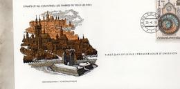 FDC    TCHECOSLOVAQUIE  HOLOGE ET HOTEL DE VILLE PRAGUE   N° YVERT ET TELLIER  2285  1978 - FDC