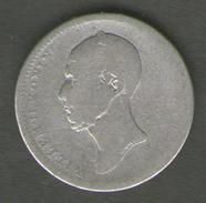 PAESI PASSI 25 CENTS 1849 AG SILVER - [ 3] 1815-… : Regno Dei Paesi Bassi