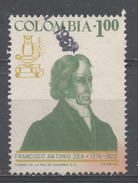 Colombia 1967. Scott #765 (U) Francisco Antonio Zea (1766-1822), Naturist And Politician * - Colombie