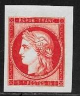 N° 830 NON DENTELE  FRANCE   -  NEUF  -  CERES  15 F  -  1949