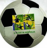 AUSTRALIA - 2006  SOCCER IN AUSTRALIA  MS  MINT NH - Blocchi & Foglietti