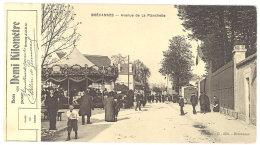 Cpa Brévannes - Avenue De La Planchette ( Manège, Bon Pour Un Demi-kilomètre )   ((S.521)) - Limeil Brevannes