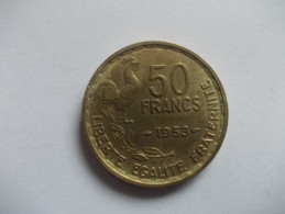 MONNAIE - 50 FRANCS GIRAUD 1953 - France