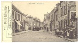 Cpa Brévannes - Grande Rue (  Bon Pour Un Demi-kilomètre )   ((S.522)) - Limeil Brevannes