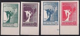 1990 Litauen Mi. 457-460**MNH  Friedensengel