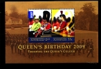 AUSTRALIA - 2009  QUEEN'S BIRTHDAY MS  MINT NH - Blocchi & Foglietti