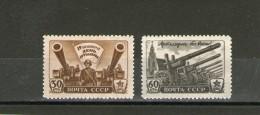 RUSSIA 1945  UNIFICATO 1009/10 NUOVO MNH **