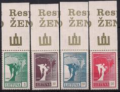 1990 Litauen Mi. 461-4**MNH  Friedensengel