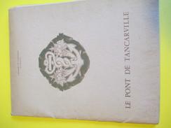 Plaquette De Prestige/ Pont De Tancarville/Chambre De Commerce Du Havre/Inauguration Officielle/Normandie/1959    CAT151 - Boeken, Tijdschriften, Stripverhalen
