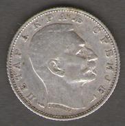 SERBIA 1 DINAR 1915 AG SILVER - Serbie