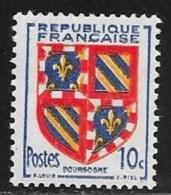 N° 834   FRANCE   -  NEUF  -  ARMOIRIE BOURGOGNE -  1949