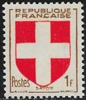 N° 836   FRANCE   -  NEUF  -  ARMOIRIE SAVOIE -  1949