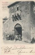 10714-REPUBBLICA DI S.MARINO-PORTA DI S. FRANCESCO-ANIMATISSIMA-1903-FP - San Marino