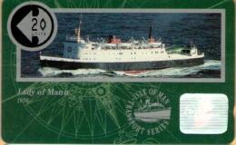 Isle Of Man - Man048, Lady Of Mann, 6,000ex, 1991, Used As Scan