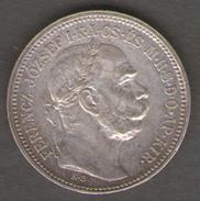 AUSTRIA 1 KORONA 1916 AG SILVER - Austria