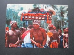 AK Nigeria 1964 War Dancers From Bende, Eastern Nigeria. Einheimische. Luftpost / Airmail. - Nigeria