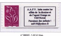 FRANCE 2005 06 MARIANNE DE LAMOUCHE3802C MNH