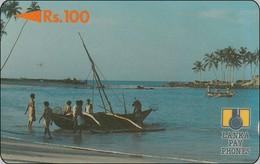 Lanka Phonecard  Fishing