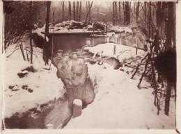 Photo 14-18 Secteur Cernay, Aspach-le-Bas, Le-haut, Burnhaupt... - Un Abri Allemand (A156, Ww1) - Guerre 1914-18