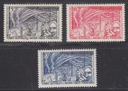 TAAF 1957 IGY 3v ** Mnh (33080) - Franse Zuidelijke En Antarctische Gebieden (TAAF)