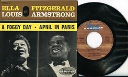"Ella Fitzgerald Et Louis Armstrong""45t Vinyle""A Foggy Day"" - Jazz"