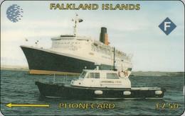 Falkland Phonecard  Schiff Ship
