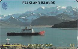 Falkland Phonecard  The British Antartic Survey`s