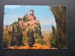 AK Echtfoto 1964 San Marino. Burg Auf Einem Felsen! - San Marino