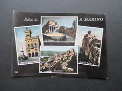 AK Echtfoto 1958 Saluti Da San Marino. Seconda Torre Usw. Mehrbildkarte - San Marino