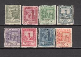 1929 EDIFIL  Nº 15 , 16 , 17 , 18 , 19 , 20 , 22 , 23 ,  / ** /