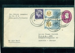 STATI UNITI - BUSTE POSTALI - 1962 - AEREOGRAMMA