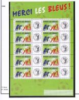 FRANCE 2006  ALLEZ LES BLEUS FEUILLET 3936A LOGO CERES MNH