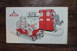 AVIA LE PLEIN MAIS EN SUPER AVIA - Buvards, Protège-cahiers Illustrés