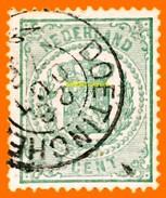 Pays-Bas Nederland 1869 P 15 Oblitéré           La Photo Est Celle Du Produit Fourni.