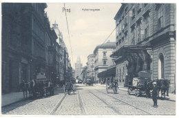 Cpa République Tchèque - Prag - Hybernergasse ( Attelages )    ((S.568)) - Czech Republic