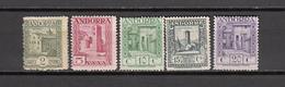 1929   EDIFIL  Nº 15 , 16 , 17 , 18 , 19 , ,    / * /