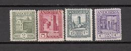 1929   EDIFIL  Nº 15 , 16  , 18 , 19 ,    / * /