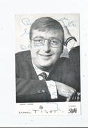 HENRI TISOT CARTE AVEC AUTOGRAPHE - Autographs