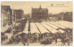 Cpa  Belgique - Knocke S/ Mer - Le Marché Du Mercredi Et La Maison Communale    ((S.569)) - Belgique