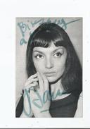 JACQUELINE DANNO CARTE AVEC AUTOGRAPHE - Autographs