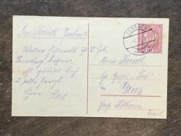 A17 Österreich Austria Autriche Ganzsache Stationery Entier Postal Mi. P 233b Jenbach Tirol Nach Gries