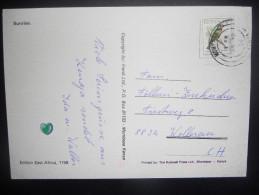 Kenya Carte Manbasa 1993 Pour Wallerau - Kenya (1963-...)