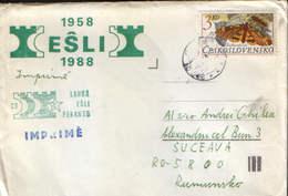 Czechoslovakia - Chess - Esperanto - ESLI(Esperanta Sak-Ligo Internacia) ,30 Years Of Existence 1958-1988