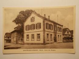 Carte Postale - SOUFFELWEYERSHEIM (67) - Mairie - Ecole De Garçons (354) - Altri Comuni