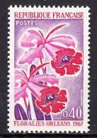 FRANCE  - 1967 - Yvert  1528 ** - Floralies D´ Orléans - France