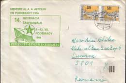 Czechoslovakia - Chess - Esperanto - In Memory Of A.A.Alechin In Podebrady 1936